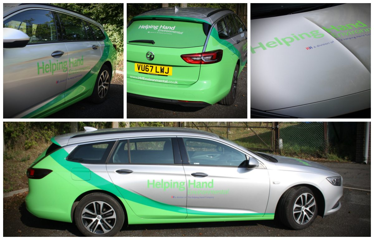 Car wrap and graphics