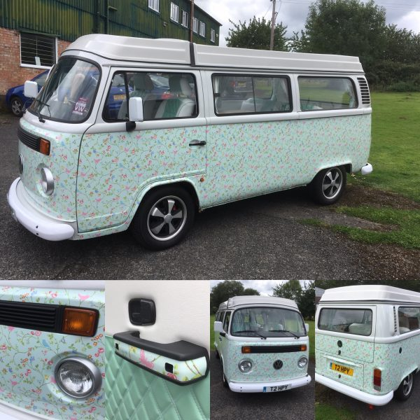 VW Camper Van Wrap in Worcester, West Midlands