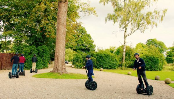The Map Group on Segways