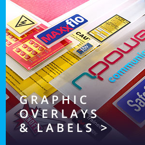 graphic overlays and labels