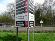 Factory Direction Signage