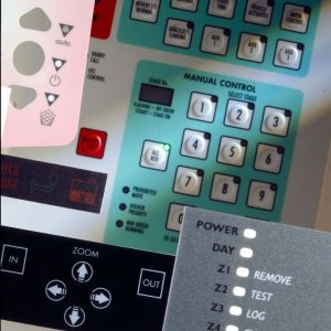 Graphic Overlays and Control Panels